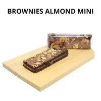 Brownies Almond Mini | Kacang Almond | Kue Brownies