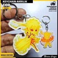 gantungan kunci akrilik Naruto-ganci akrilik murah gambar bisa costum