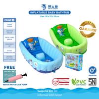 DOCTOR DOLPHIN Baby Bathtub / Bak Mandi Bayi Tiup / Kolam Mandi Bayi