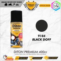 Diton PREMIUM 9184 Black Doff Cat Semprot /Pylox/Samurai/Helm/Gundam