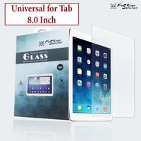 Advan Tab 8001 8 inch Anti Gores Tempered Glass Screen Guard Clear