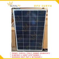 Panel surya 100wp solar panel 100wp solar cell 100wp poly