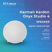 Harman Kardon Bluetooth Portable Speaker Onyx Studio 4 - Black - 245
