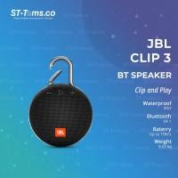 JBL CLIP 3 Portable Bluetooth Speaker - Black