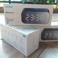 speaker bluetooth 5.0 ACOME A5 (jam digital alarm) garansi resmi 1th