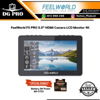 "FeelWorld F5 PRO 5.5"" Feel World HDMI Camera LCD Monitor 4K Support"