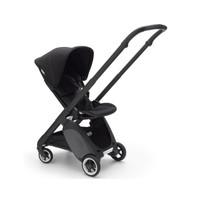 Bugaboo Complete Stroller Ant Black Free Leg Rest - Black