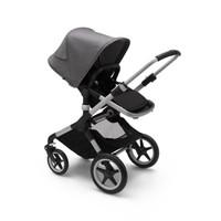 Bugaboo Complete Stroller Fox2 Alumunium - Black Grey