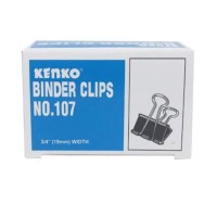 Binder Clip No 107 Binder Clips No.107 Klip Penjepit Kertas No. 107