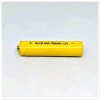 Baterai isi ulang AAA recas recharge 700mAh 1.2V Batere A3