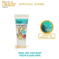 Promo Buds OralCare Organic Oral Gel For Baby Teeth & Gum Berkualitas