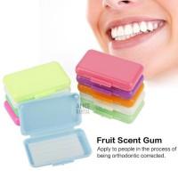 -Terbaru Alicedental Dental Wax Ortho Fruit Scent Braces Orthodontic