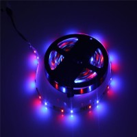 Lampu Led Strip 5m RGB (Warna-warni) with remote 12v-220v/ AC DC