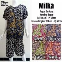 Setelan Kulot Babydoll Batik
