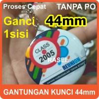 pin gantungan kunci souvenir 44mm