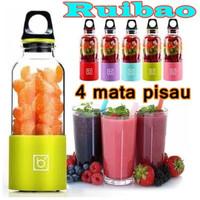 Bingo Portable Juicer 500ML Jus Blender Juice Botol Minuman AAA