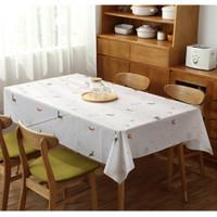 Taplak Meja Makan Ruang Tamu Anti Air Waterproof Ukuran Besar Motif