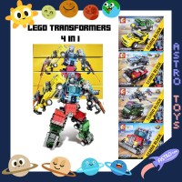 LEGO ROBOT TRANSFORMERS 4 IN 1