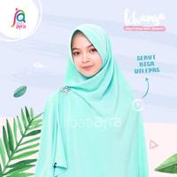 Khansa Khimar Serut Jilbab Afra Arfa Khanza Hijab Instant Green Mint