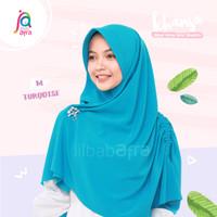 Khansa Khimar Serut Jilbab Afra Arfa Khanza Hijab Instant Turqoise M/L