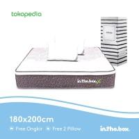 Kasur Spring Bed Inthebox X Ukuran 180 x 200 King (Hanya Kasur)