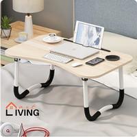 Living Mart - SKRIV Meja Lipat Serba Guna / Meja Laptop Lipat - 44015