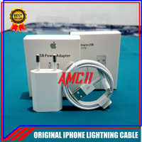 Charger iPhone X XR XS XS Max ORIGINAL 100% 5V-1A Lightning Cable