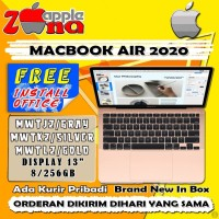 MacBook Air 2020 13.3 INCH 256GB MWTJ2 SPACE GREY MWTL2 GOLD Touch ID - SPACE GREY, RESMI IBOX