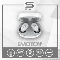 SOUL Emotion2 TWS Earphone Bluetooth v 5.0 Waterproof Wireless - Putih