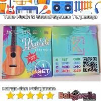 1 Set Senar Ukulele Klire's Concert Sopran Klire's Original Bonus Pick