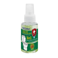 MEDPRO TOILET SEAT DISINFECTANT SPRAY 70 ML / DISINFECETANT TOILET