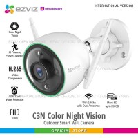 Ezviz C3N IP Cam Outdoor Color Night Vision 1080p Memory up to 256GB
