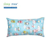 Sleep Max Long Cushion/Bantal Sofa Panjang Katun 28x50 Cm-Owl Blue