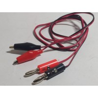 Kabel Power Supply Merah Hitam Kabel Power Supply Jepit