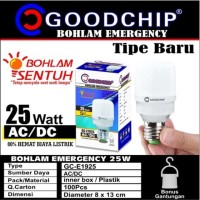 Bohlam Lampu Emergency LED 25 Watt Sentuh Ajaib Goodchip GC-E1925