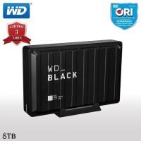 WD Black D10 8TB Game Drive HDD / Hardisk / Harddisk External USB 3.2