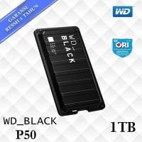 WD Black P50 SSD External 1TB Game Drive USB C - WD SSD 1 TB ORI