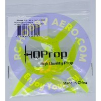 HQProp 3X1.8X3(2CW+2CCW)-Poly Carbonate-1.5MM (Light Yellow)