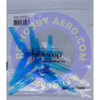 HQ Durable Prop T5X2X3 (2CW+2CCW)-Poly Carbonate (Light Blue)