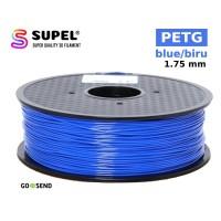 SUPEL Filament Filamen Tinta Printer 3D PETG 1.75 mm Blue | Biru