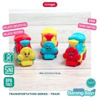 IQ ANGEL Train Toys / Mainan Edukasi Anak/ Mainan Bayi Karakter Kereta