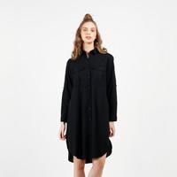FLIES Dress Oversize A15439F Black All Size