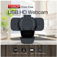 WB91 Webcam High Quality 1080p with Buit in Mic and Privacy Cover