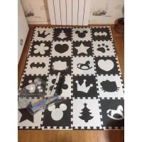 evamat matras karpet anak / puzzle lantai / playmat kartun bayi - motif A