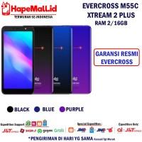EVERCOSS M55C XTREAM 2 PLUS 2/16 GB GARANSI RESMI INDONESIA TERMURAH