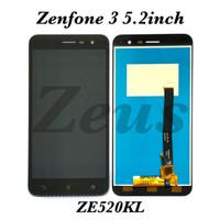 LCD TOUCHSCREEN ASUS ZENFONE 3 5.2INCH ZE520KL Z017DA Z017DB FULLSET - Hitam