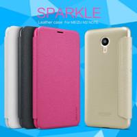 MEIZU M2 NOTE NILLKIN SPARKLE ORIGINAL CASING HARD CASE FLIP COVER PC
