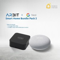 Google Home Nest Mini 2 Garansi resmi TAM X ARBIT Smart IR Remote