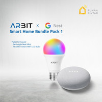 Google Home Nest Mini 2 Garansi resmi TAM X ARBIT Smart Bulb LED 9W