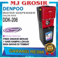 PROMO WATER DISPENSER DENPOO DDK 206 DDK206 HOT & COOL